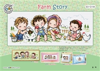 SO-G184 Farm Story Cross Stitch Chart