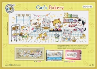 SO-G185 Cats' bakery Cross Stitch Chart