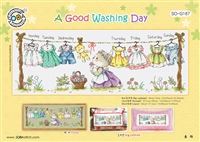 SO-G187 A Good Washing Day Cross Stitch Chart