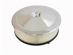 1966 - 1972 Chevelle / Nova Air Cleaner Element Filter, Open Element, Deep Base 4 Inch Height