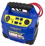 Goodyear Portable Power Pack 1,000 Peak Amp Jump Starter with 150 PSI Air Compressor