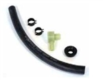 1967 - 1972 Chevelle / Nova Power Brake Booster Vacuum Hose Kit with Clamps and Check Valve, Big Block