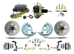 1964 - 1972 Chevelle Power Disc Brake Conversion Kit with 9 inch Booster