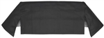 1968 - 1972 Chevelle Convertible Top Well Liner, Black