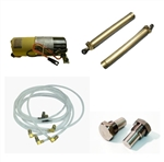 1966 - 1972 Chevelle Convertible Power Top Motor Pump, Cylinders, Hoses and Shoulder Bolt Kit