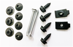 1968 - 1972 Nova Console Mount Hardware Set, 15 Piece