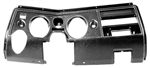 1969 Chevelle Dash Instrument Housing Carrier Bezel, Without AC