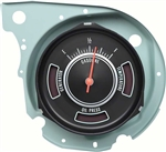 1969 Chevelle Fuel Gauge with Dash Warning Lights, Each