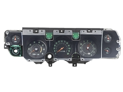 1970 Chevelle Dash Instrument Cluster with Gauges (Super Sport)(FLOOR SHIFT AND EXTERNAL REGULATOR ONLY) , Each