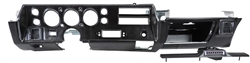 1970 - 1972 Chevelle Dash Gauge Housing Assembly, Super Sport