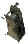 1969 - 1972 Nova Air Conditioning Heater Box Diverter with Vent Duct Flapper Door, GM Original Used