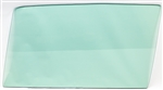 1968 - 1972 Nova Door Window Glass (Green Tint) (Left, 2 Door), Each