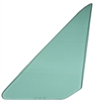 1968 - 1972 Nova Vent Wing Window Glass (Green Tint) (2 Door, Left), Each