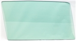 1968 - 1972 Nova Door Window Glass (Green Tint) (Right, 2 Door), Each