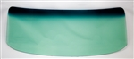 1968 - 1972 Chevy II Nova Green Tint Windshield without Antenna, 2 Door