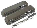 1966 - 1972 Valve Covers, Big Block, Polished Aluminum