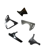 1971 - 1972 Nova Air Conditioning Compressor Brackets, Big Block, Set