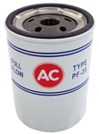 1968 - 1972 Chevelle / Nova Oil Filter, AC PF-35 Red White and Blue, Longer, OE Style