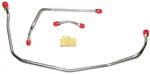 1970 Chevelle Fuel Line Pump To Carburetor Line, 454 LS-6 with Short Fuel Pump, Choose Original Material or Stainless Steel