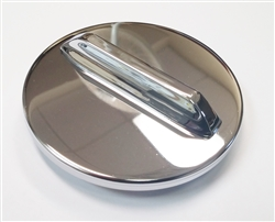 1962 - 1964 Nova Chevy II Fuel Gas Chrome Cap, Original Style