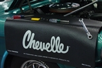 Chevelle Script Logo, Fender Gripper Cover Mat is now on SALE!