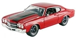 FAST AND FURIOUS DOM'S 1970 CHEVROLET CHEVELLE SS 1/24 RED