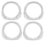 1970 Chevelle Headlight Bezels, Set