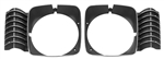 1969 - 1972 Nova Headlight Bezels, Pair