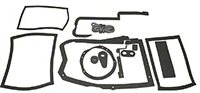 1968 - 1972 Chevelle Heater Box Firewall Seal Kit with Air Conditioning