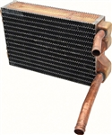 1969 - 1974 Nova Heater Core, Small Block with Air Conditioning, Copper / Brass