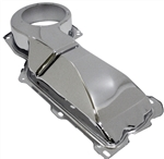 1967 - 1975 Nova Heater Box Firewall Cover, Small Block without Air Conditioning, Chrome