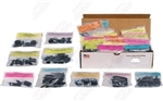 1969 Chevelle Underhood Fasteners Kit, (136 Pieces)