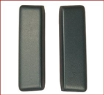 1966 - 1967 Chevelle Arm Rest Pads (Rear, Bright Blue), Pair
