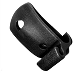 1968 - 1972 Convertible Chevelle Inside Rear View Mirror Mount Bracket Black Rubber Pebble Grain Cover