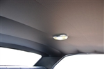 1970 - 1972 Chevelle Headliner Material with Sail Panels, Coupe, 6-Bow, Perforated, Choose Your Color