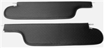 1968 - 1970 Chevelle Sunvisors, Coupe, Perforated, Choose Your Color, Pair