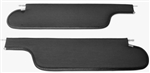 1968 - 1970 Chevelle Sunvisors Coupe, Ribbed, Pair