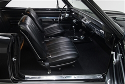 1966 Chevelle Front Bucket Seat Covers Set