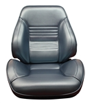 1967 Chevelle Pro Touring II Reclining Front Bucket Seat Assemblies, Procar Standard Interior Pattern, PAIR