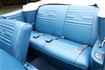 1967 Chevelle Seat Covers, Rear, Convertible