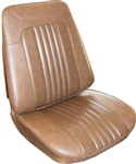 1971 - 1972 Chevelle Front Bucket Seat Covers, Pair