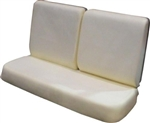 1971 - 1972 Chevelle Front Bench Seat Foam Set