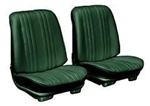 1969 Chevelle Front Bucket Seat Assemblies Set, Colors, Pre-Assembled, Pair