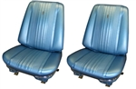 1970 Chevelle Chevelle Front Bucket Seat Assemblies Set, Colors, Pre-Assembled, Pair