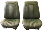 1971 - 1972 Chevelle Pre-assembled Bucket Seats, Pair
