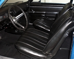 1968 Nova Front Bucket Seat Covers, SS or Custom