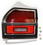 1969 Chevelle Tail Light Housing, Bezel, Lens Assembly, Left Hand