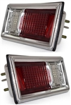 1968 - 1969 Nova Tail Light Housing and Lens Assembly, Left Hand