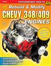 Nova How to Rebuild and Modify Chevy 348 or 409 Engines (144 Pages, 259 Photos) , Each