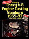 1955 - 1993 Chevy V-8 Engine Casting/Stamping Numbers, Each